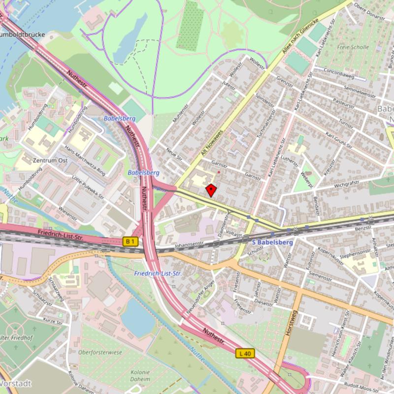 Karte zu Kniesche Orthopädietechnik - Stammhaus und Werkstätten